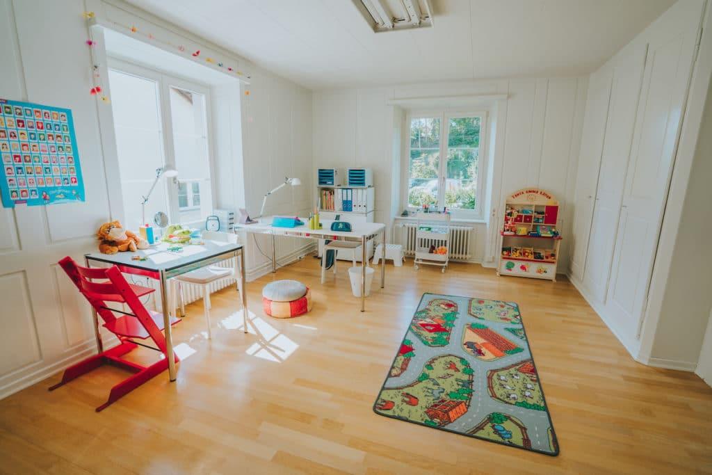 Praxisraum Sprachfabrik logopädische Praxis für Kinder